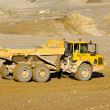 Yellow mining dump truck — Stock Photo #6764708