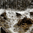 Stock Photo: Small waterfall.