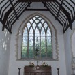 Altar and Window of Church — Stock Photo