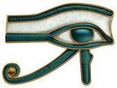 Egipcio ojo de horus — Foto de Stock