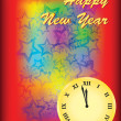 Happy new year background — Stock Vector #7303636
