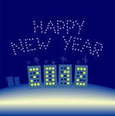 新しい年 — ストックベクタ