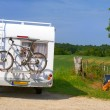Royalty-Free Stock Photo: Travel by mobil home