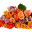 Bouquet roses in various colors — Stock Photo #6954950