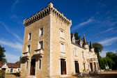 Castle in the French Charente — Stock Photo