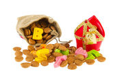 Dutch Sinterklaas candy — Stock Photo