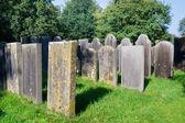 Mycket gamla kyrkogården — Stockfoto