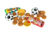 Nederlandse sinterklaas snoep — Stockfoto