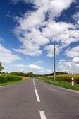 Carretera vacía — Foto de Stock
