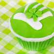 Cupcake Saint Patrick's day — Stock Photo