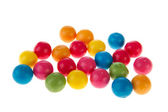 Chewing gum balls — Stock Photo
