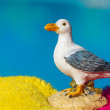 Miniature seagull — Stock Photo #7862634
