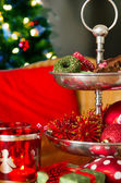 Christmas in red — Stock Photo