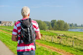 Hiking in Holland — Stock Photo