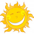 Stock Photo: Sun Smiling