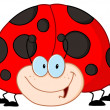 Happy Ladybug — Stock Photo