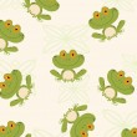 Seamless Pattern Tree Frog — Stock Photo