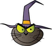 Kot który głowy — Zdjęcie stockowe