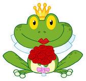 Frog Bride — Stock Photo