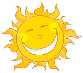 Sun Smiling — Stock Photo