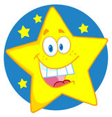 Happy Star — Stock Photo
