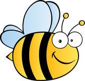 Happy Bee — Stock Photo