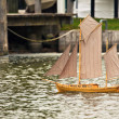 Sailing ship regatta — Stock Photo