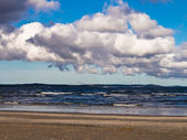 On shore of the Baltic Sea — Stock Photo