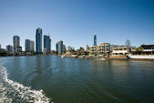 Waterway Scene, Surfers Paradise, Australia — Stock Photo
