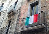 Bandeira italiana — Fotografia Stock