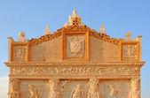 Greek gate in Gallipoli, Italy — Stock Photo