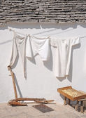 Hanging out to dry in the sun — Stock Photo