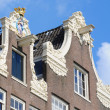 Постер, плакат: Dutch gable house beguinage Amsterdam