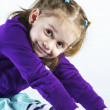 Young child girl - Stock Photo