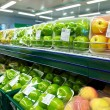 Fruit in supermarket — Stock Photo