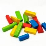 Wooden toy blocks — Stock Photo #7960849
