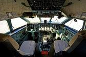 Pilot cockpit — Stock Photo