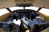 Pilot cockpit — Stock Photo