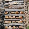 Stock Photo: Chopped wood