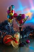 Christmas baubles . — Zdjęcie stockowe