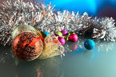 Christmas baubles . — Stock Photo