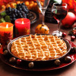 Stock Photo: Apple pie for Thanksgiving