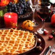 Apple pie for Thanksgiving — Foto de Stock
