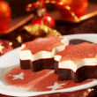 Royalty-Free Stock Photo: Dessert for Christmas