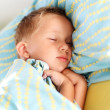 Stock Photo: Little boy sleeping