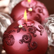 Christmas candle — Stock Photo #6954019