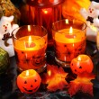 Halloween still life - Stock Photo