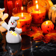 Stock Photo: Halloween still life