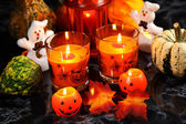 Halloween still life — Stock Photo