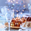 Royalty-Free Stock Photo: Luxury place setting for Christmas
